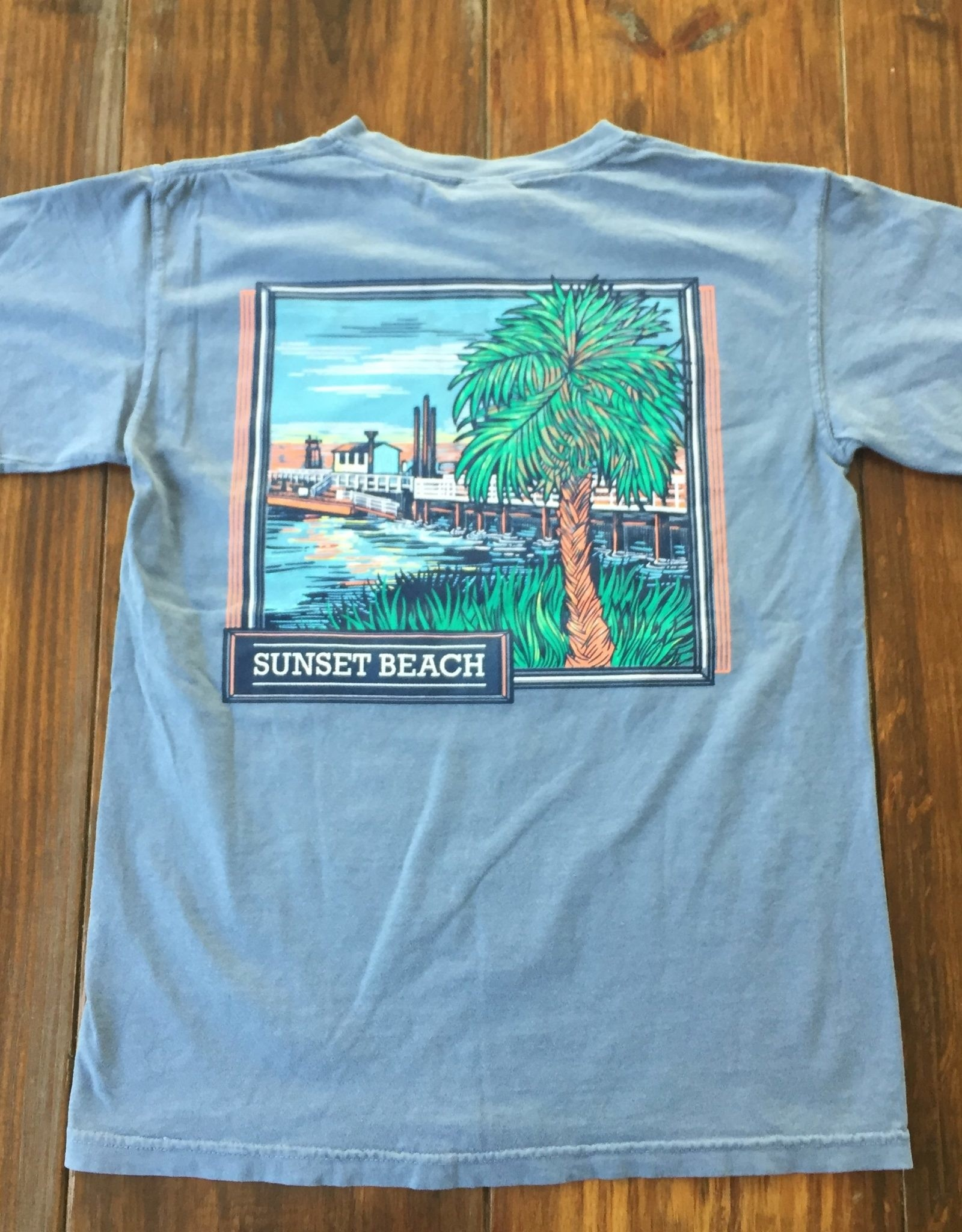 OLD BRIDGE PALM TEE