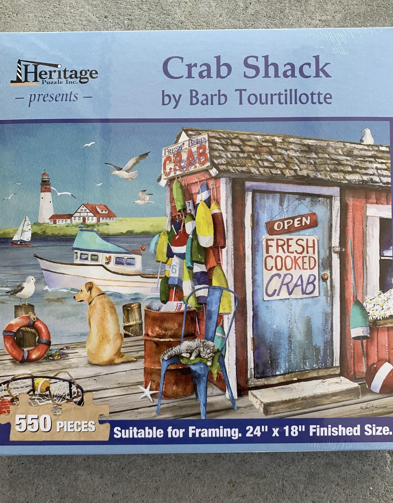 CRAB SHACK PUZZLE 550PCS