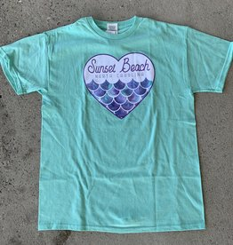 MERMAID AT HEART KIDS TEE