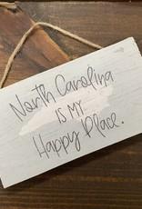 HAPPY PLACE NC  PETITE HANGER