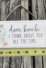 PETITE HANGER DEAR BEACH