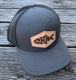 sbncfish SBNC FISH PATCH CAP CHAR/BLK