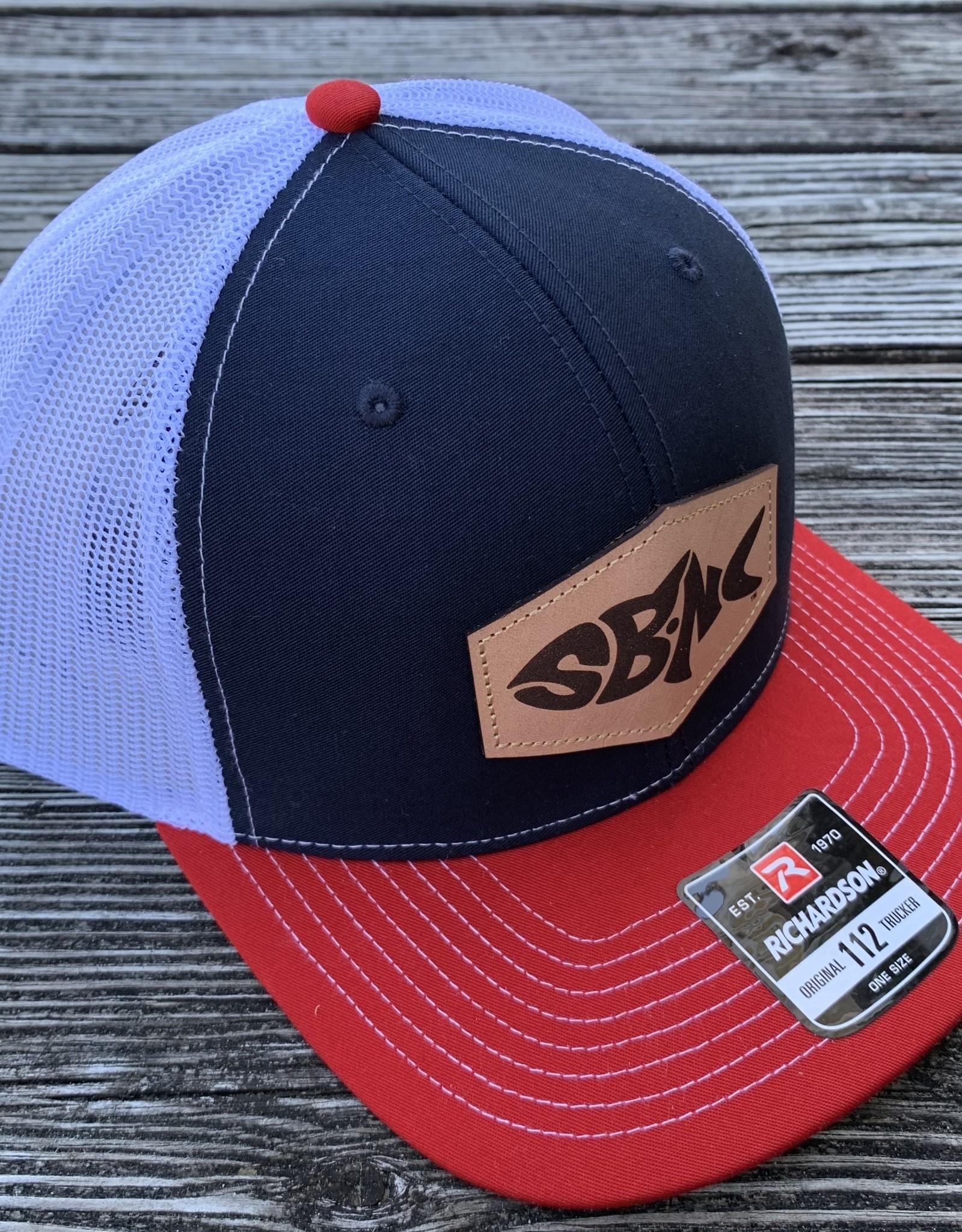 sbncfish SBNC FISH PATCH CAP NAV/WHT/RED