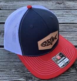 sbncfish SBNC FISH PATCH CAP NAV/WHT/RED