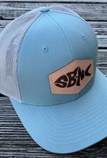 sbncfish SBNC FISH PATCH CAP SMKBLU/ALUM