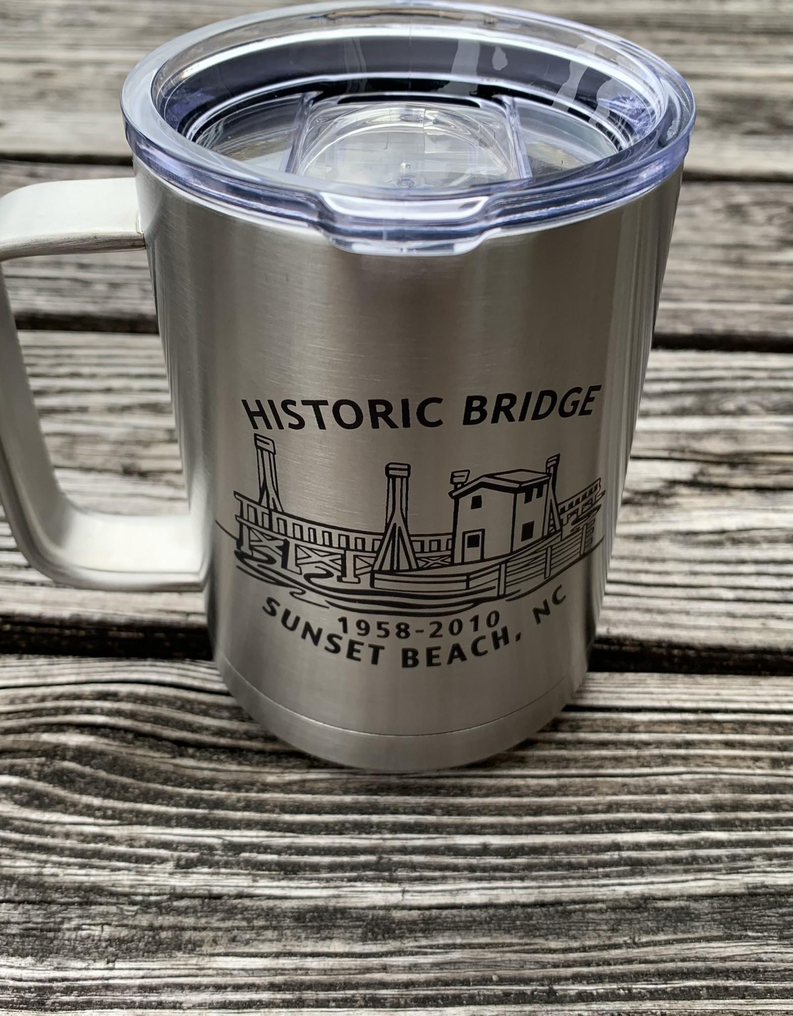 HISTORIC BRIDGE INSULATED MUG STAINLESS STEEL