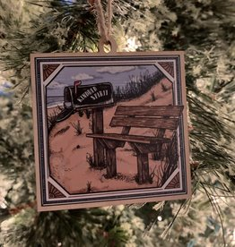 KINDRED SPIRIT KINDRED SPIRIT WOOD ORNAMENT