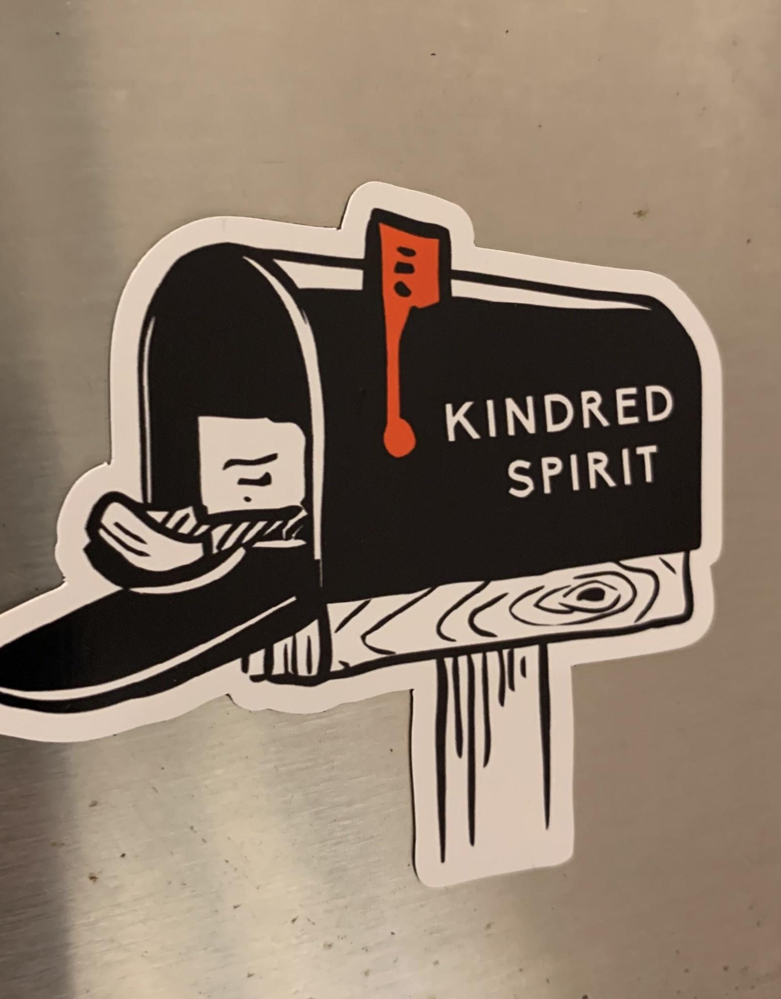 KINDRED SPIRIT KINDRED SPIRIT CAR MAGNET