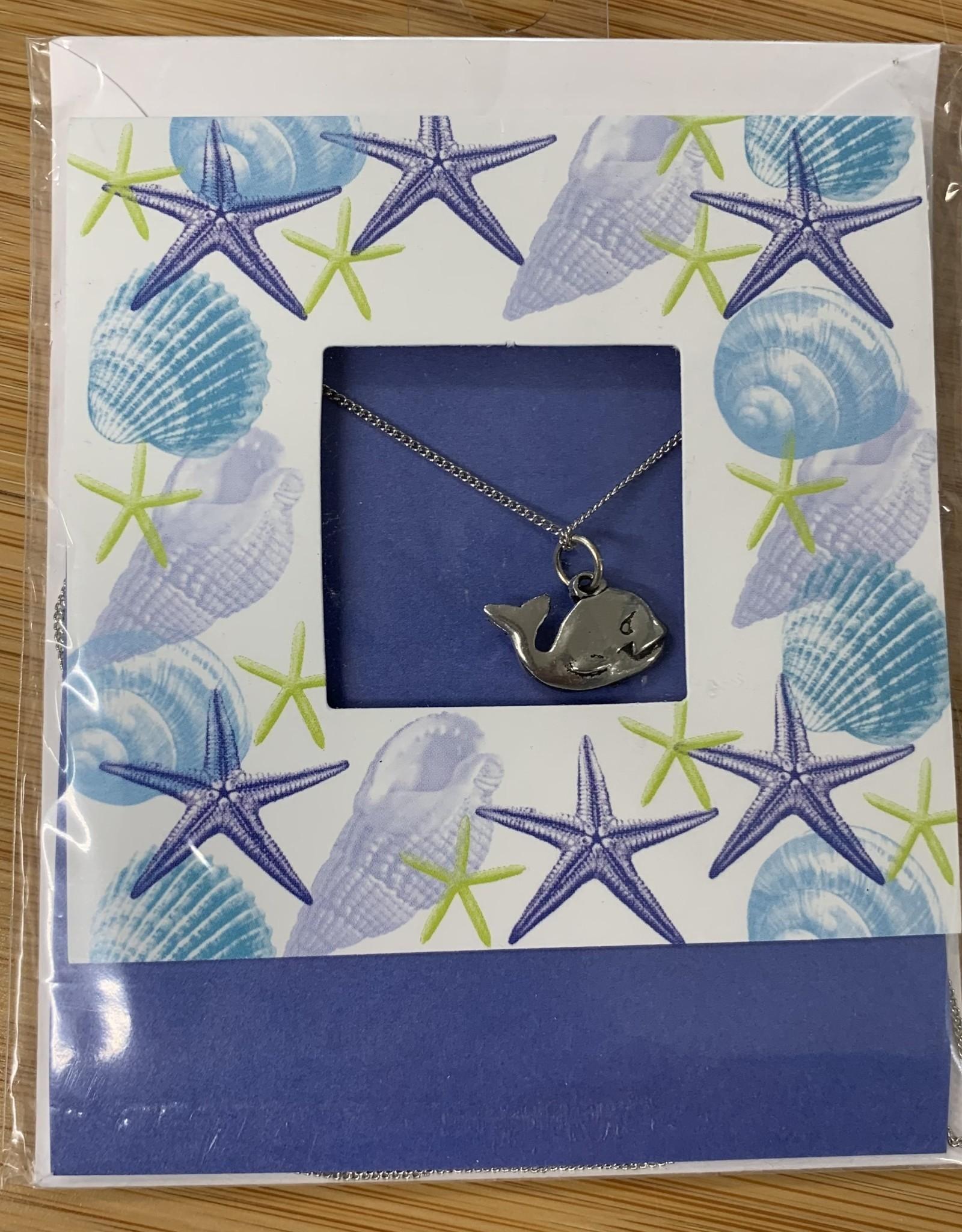SEA CARD WHALE