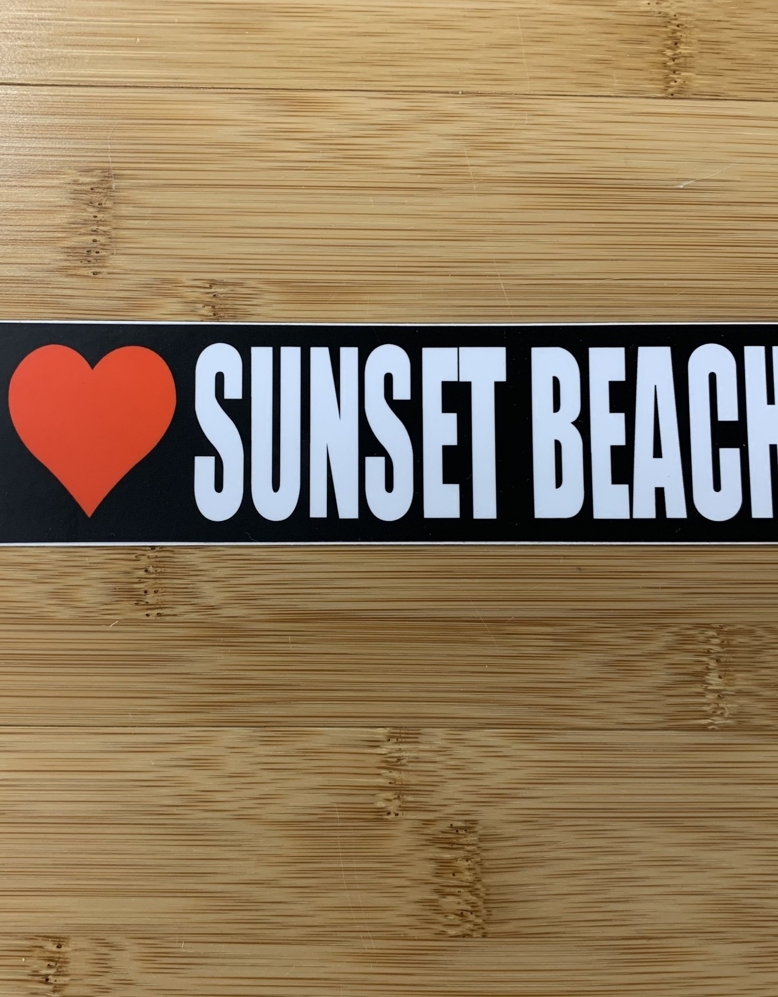 STICKER (L) I HEART SUNSET BEACH