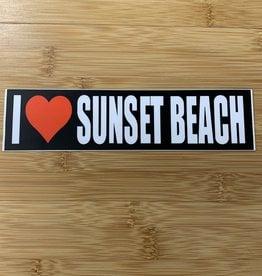 STICKER (L) I HEART SUNSET BEACH