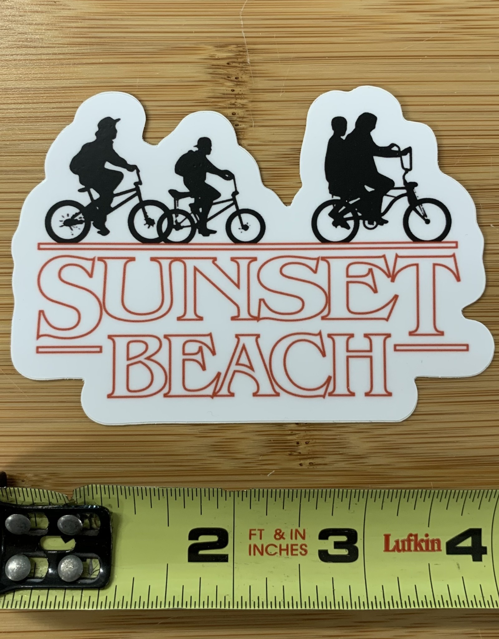 STICKER (L) STRANGE SUNSET
