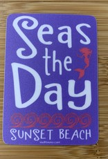 STICKER (L) SEAS THE DAY MERMAID
