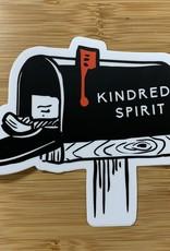STICKER (L) KINDRED SPIRIT RED FLAG