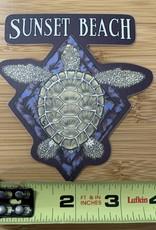 STICKER (L) TURTLE DIAMOND
