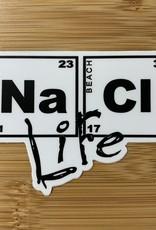 STICKER (S) NaCl LIFE