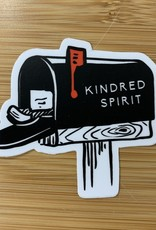 STICKER (S) KINDRED SPIRIT RED FLAG