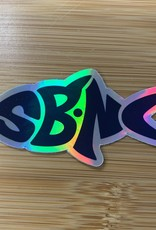 sbncfish STICKER (S) SBNC FISH HOLOGRAM