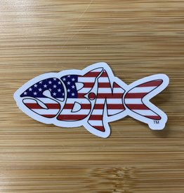 sbncfish STICKER (S) SBNC FISH USA