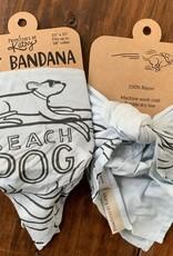 BEACH DOG BANDANA LRG