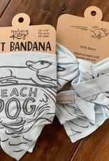 BEACH DOG BANDANA SM