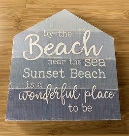 BY THE BEACH 5X6 HOUSE BLOCK