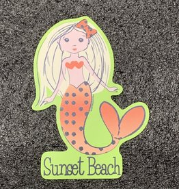 STICKER (L) BOO BOO MERMAID