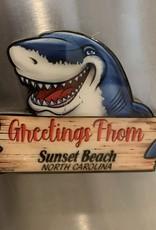 SHARK GREETINGS LAYERS MAGNET