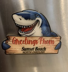 SHARK GREETINGS LAYERS MAGNET