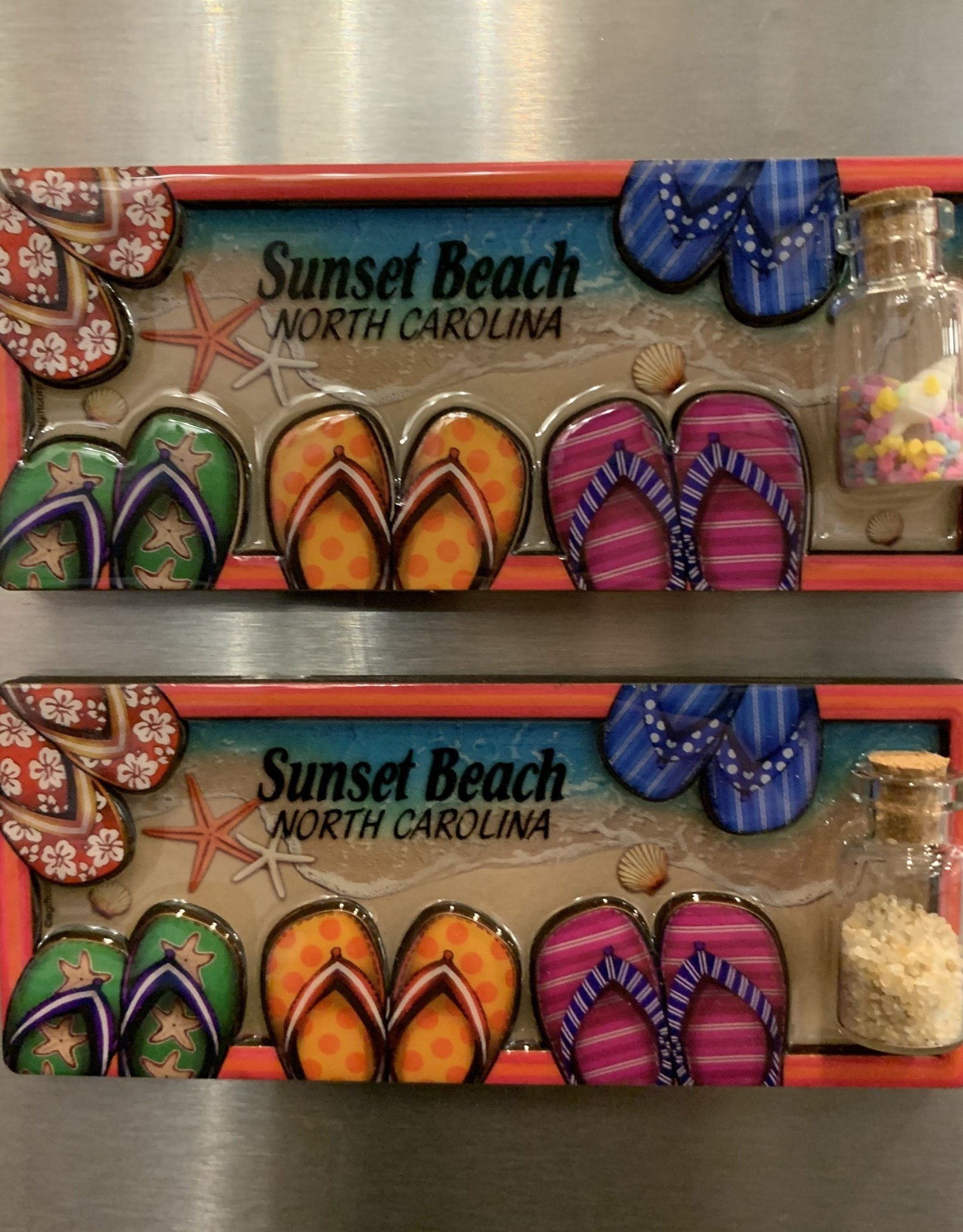 SANDALS DESIGN BOTTLE MDF MAGNET