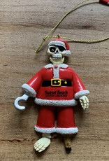 PIRATE SANTA ORNAMENT
