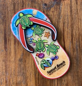 TURTLE SANDAL LAYERS MAGNET