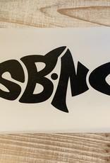 sbncfish SBNC FISH TRANSFER DECAL (BLACK)