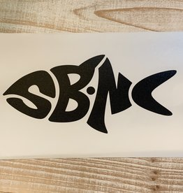 sbncfish SBNC FISH TRANSFER DECAL (BLACK)