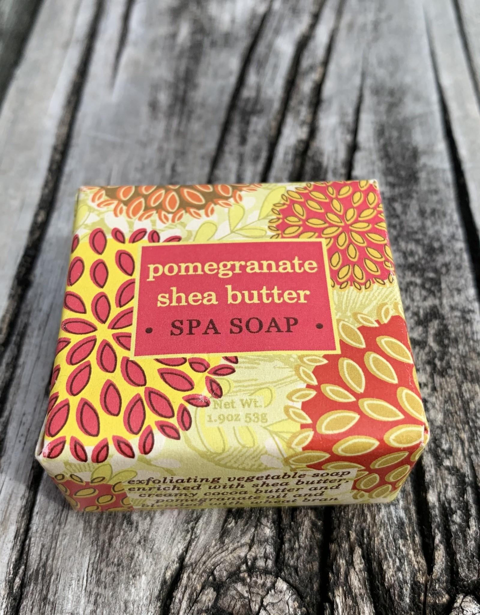 CUBE POMEGRANATE SHEA SOAP