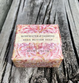 CUBE ROSEWATER JASMINE SOAP