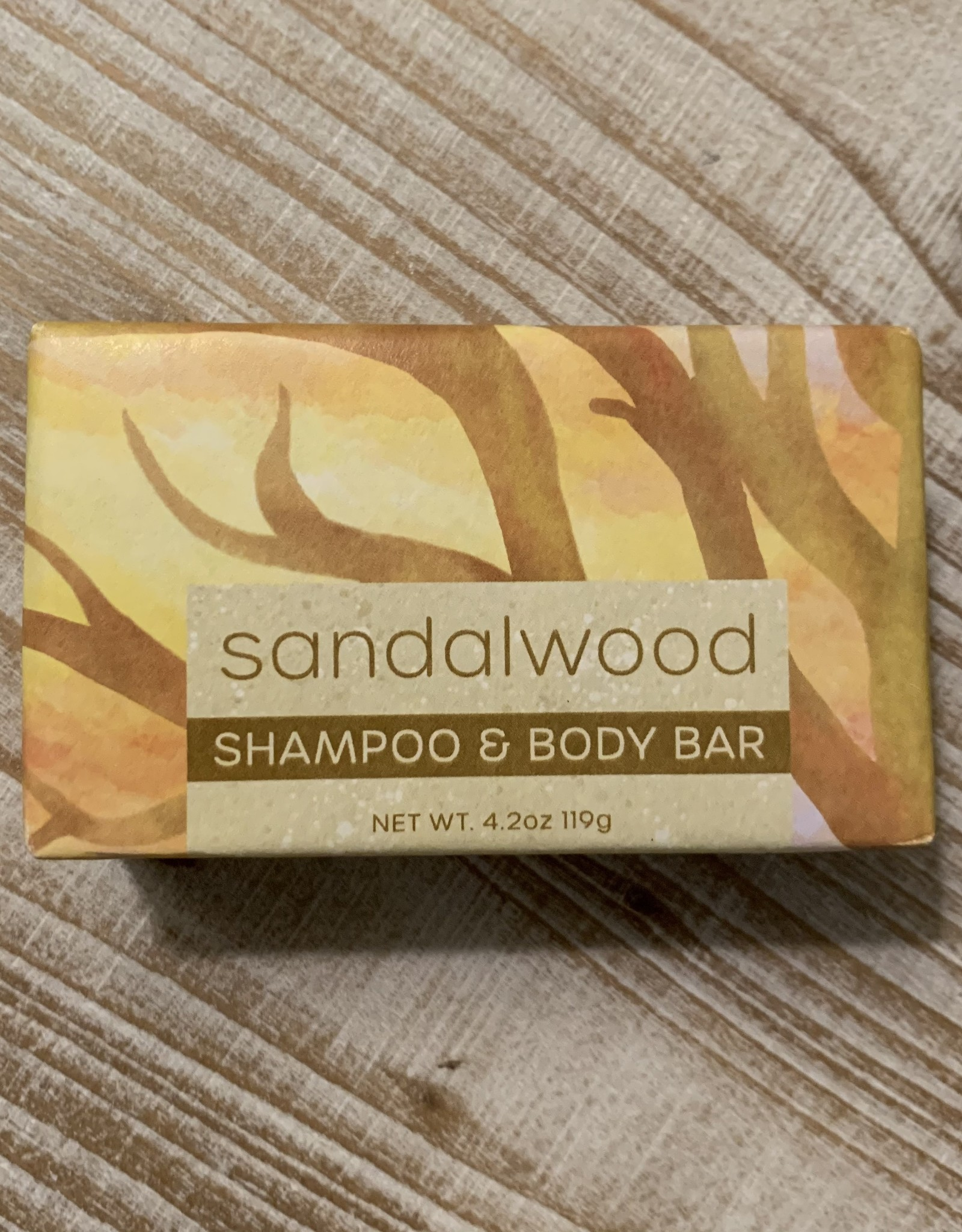 SHAMPOO BAR SANDALWOOD