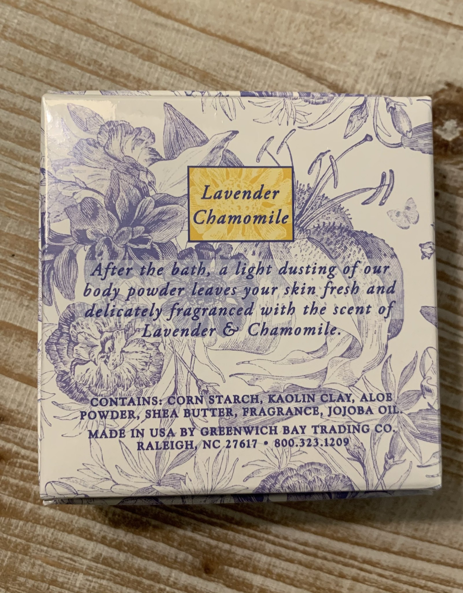 DUSTING POWDER LAVENDER CHAMOMILE