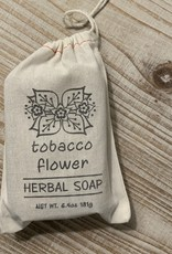 CLOTH SACK TOBACCO FLOWER SOAP