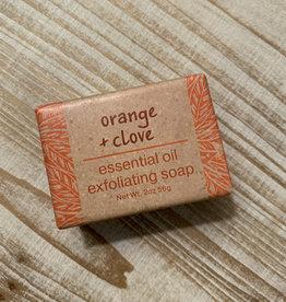 CUBE ORANGE CLOVE SOAP