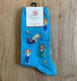 MERMAIDS WOMENS SOCK BLUE LAGOON