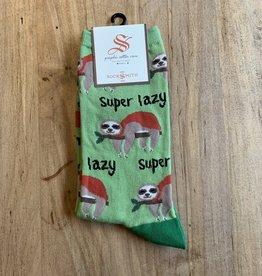 SUPER LAZY WOMENS SOCKS GREEN