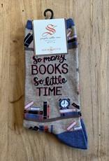 TIME 4 GOOD BOOK WOMENS SOCKS HEMP HEATHER