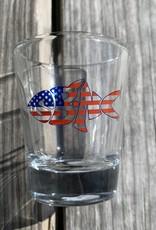 sbncfish SBNC FISH USA SHOTGLASS