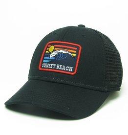 SUN WAVE LPS CAP BLACK