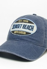 SLATE SCA WIDE OVAL CANVAS CAP