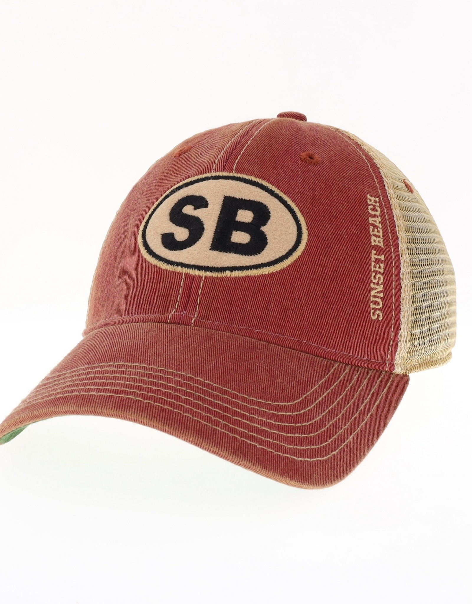 SB EURO OFA TRUCK CAP CARDINAL