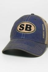 SB EURO OFA TRUCKER CAP BLUE