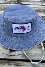 sbncfish SBNC FISH USA ADULT AUSSIE HAT