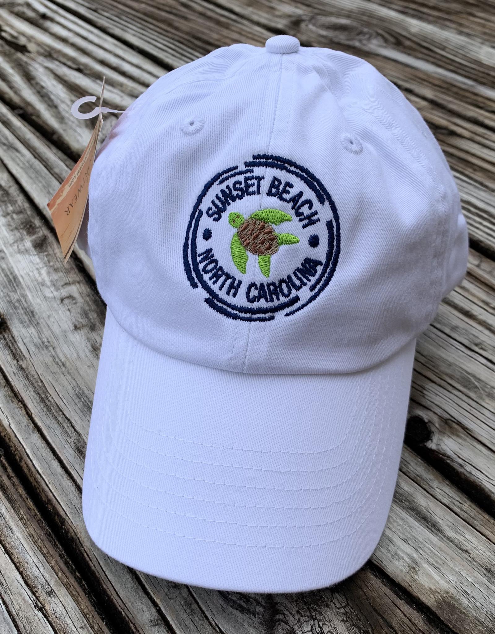 TURTLE STAMP VELCRO CAP